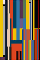 Gallery print  BAUHAUS RISING - THE USUAL DESIGNERS