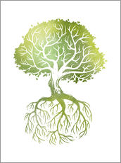 Wall Stickers  Roots - Stephanie Wittenburg
