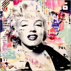 Wall sticker Marilyn Monroe