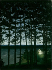 Wall sticker  Fisherman's cottage - Harald Oscar Sohlberg