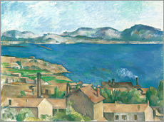 Gallery print  The Bay of Marseille, Seen from L'Estaque - Paul Cézanne