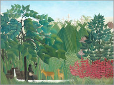 Gallery print  The Waterfall - Henri Rousseau