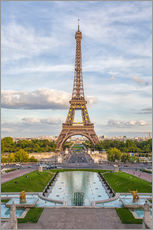 Gallery print  Eiffel Tower and Europe - Roberto Moiola