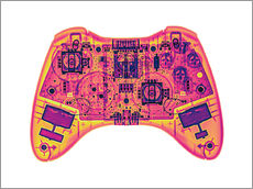 Wall Stickers  Computer game controller, X-ray - Gustoimages