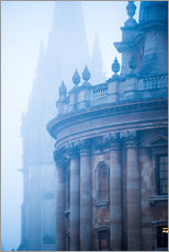 Gallery print  St. Mary's Church in the fog, Oxford - John Alexander