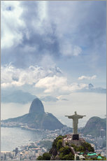 Wall sticker  The Christ and the Sugar Loaf - Alex Robinson