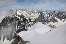 Gallery print  Mountaineers and climbers - Peter Richardson