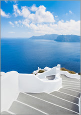 Gallery print  Stairs on Santorini