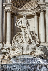 Gallery print  Trevi Fountain in Rome - Reynold Mainse