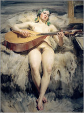 Gallery print  The Lute Player - Anders Leonard Zorn