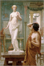 Gallery print  Pygmalion and Galatea - Ernest Normand
