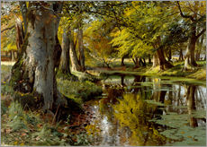 Gallery print  Late summer at Waldbach - Peder Mork Mönsted