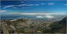 Gallery print  Panorama Cape Town South Africa - Achim Thomae