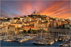 Gallery print  Marseille sunset - Vincent Xeridat