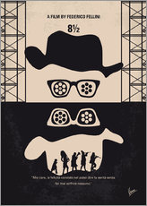 Wall Sticker  No731 My 8 1 2 minimal movie poster - chungkong
