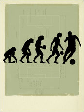 Gallery print  Football Evolution - Smetek