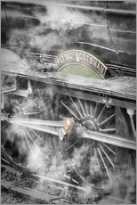 Gallery Print  The Flying Scotsman steam locomotive - John Potter