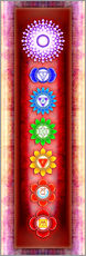 Wall Stickers  The Seven Chakras Series 6 - Artwork 3 - Dirk Czarnota
