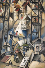 Wall sticker  Le Vieux Port - Christopher Nevinson