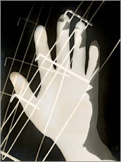Wall sticker  photogram 2 - László Moholy-Nagy