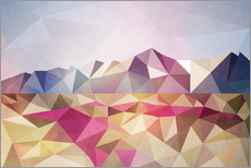 Wall Stickers Polygon Alaska