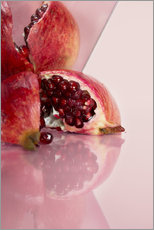 Wall sticker  Mirror Pomegranate I - Julia Bruch