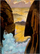 Wall sticker  The Green Wave - Georges Lacombe