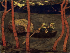 Gallery print  Boatwomen in Brittany - Georges Lacombe