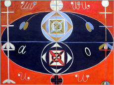 Wall sticker  Evolution, No. 16 - Hilma af Klint