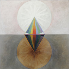 Gallery print  The Swan, No. 12 - Hilma af Klint
