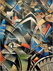 Gallery Print  The Arrival - Christopher Nevinson