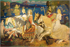 Gallery print  Riders of the Sidhe - John Duncan