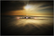 Gallery print  Vulcan Head On - airpowerart