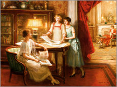 Wall sticker  The print connoisseurs - Albert Lynch