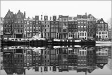 Wall sticker  Reflections of Amsterdam - George Pachantouris
