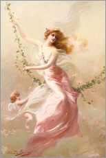 Wall sticker  The swing - Edouard Bisson
