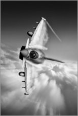 Gallery print  Typhoon Knife Edge mono - airpowerart
