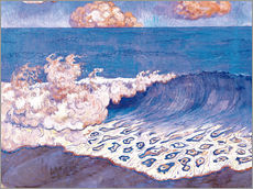 Wall sticker  Blue seascape - Georges Lacombe