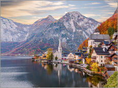 Wall Stickers  Hallstatt, Austria in the Autumn - Mike Clegg Photography