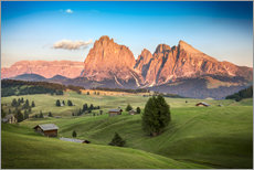 Wall Stickers  Seiser Alm, South Tyrol - Frank Fischbach