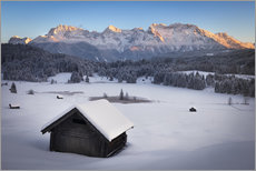 Wall sticker  Geroldsee at wintertime, Bavarian , Germany - Frank Fischbach