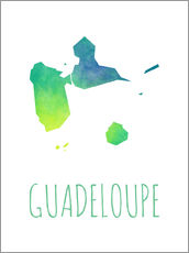 Wall sticker Guadeloupe