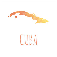 Wall sticker  Cuba - Stephanie Wittenburg