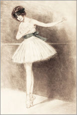 Gallery print  The Ballerina - Maurice Milliere