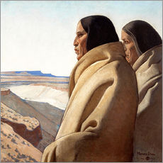 Gallery print  Men of the Red Earth - Maynard Dixon
