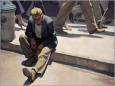 Wall Stickers  forgotten man - Maynard Dixon