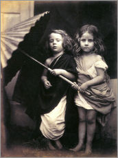 Gallery print  Paul and Virginia - Julia Margaret Cameron