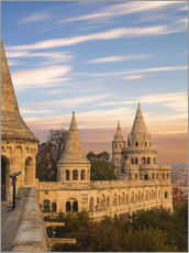 Gallery print  Fishermans Bastion, Budapest - Mike Clegg Photography