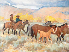 Wall Stickers  Fence Riders - Maynard Dixon