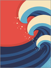 Gallery print  The Great Wave